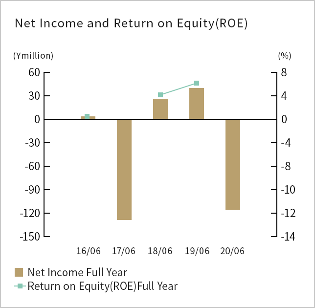 Net Income(loss) and Return on Equity(ROE)